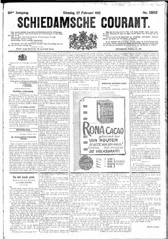 Schiedamsche Courant 1912-02-27