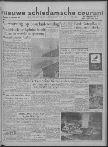 Nieuwe Schiedamsche Courant 1958-10-27