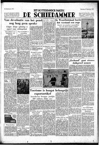Rotterdamsch Parool / De Schiedammer 1949-09-10