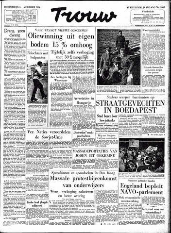 Trouw / De Rotterdammer 1956-12-13