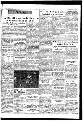 Rotterdamsch Nieuwsblad / Schiedamsche Courant / Rotterdams Dagblad / Waterweg / Algemeen Dagblad 1953-12-29