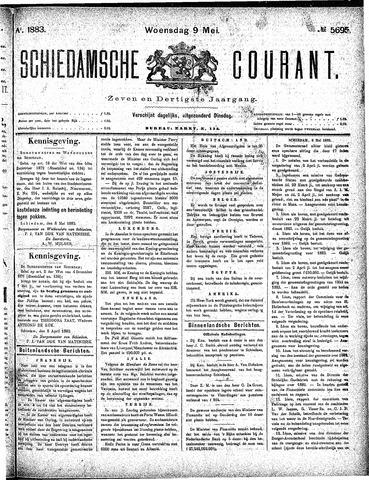 Schiedamsche Courant 1883-05-09