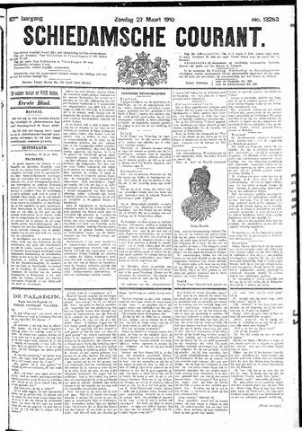 Schiedamsche Courant 1910-03-27