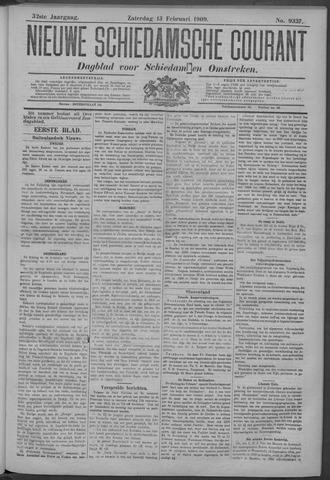 Nieuwe Schiedamsche Courant 1909-02-13