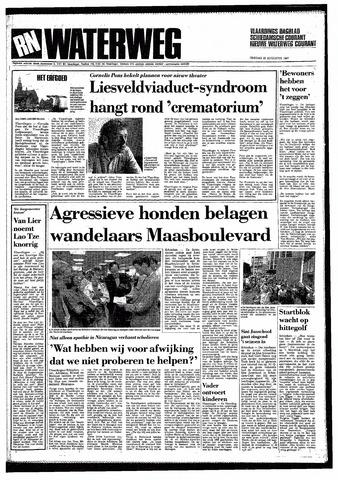 Rotterdamsch Nieuwsblad / Schiedamsche Courant / Rotterdams Dagblad / Waterweg / Algemeen Dagblad 1987-08-25