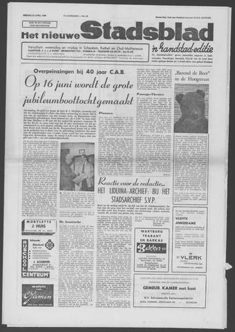 Het Nieuwe Stadsblad 1966-04-22