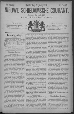 Nieuwe Schiedamsche Courant 1886-05-20