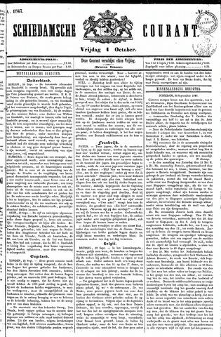 Schiedamsche Courant 1847-10-01