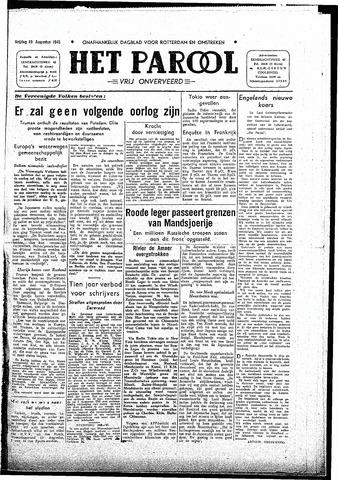 Rotterdamsch Parool / De Schiedammer 1945-08-10
