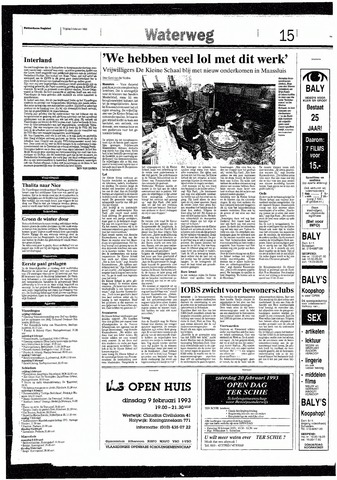 Rotterdamsch Nieuwsblad / Schiedamsche Courant / Rotterdams Dagblad / Waterweg / Algemeen Dagblad 1993-02-05