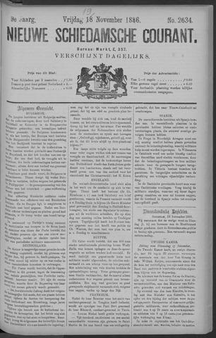 Nieuwe Schiedamsche Courant 1886-11-19