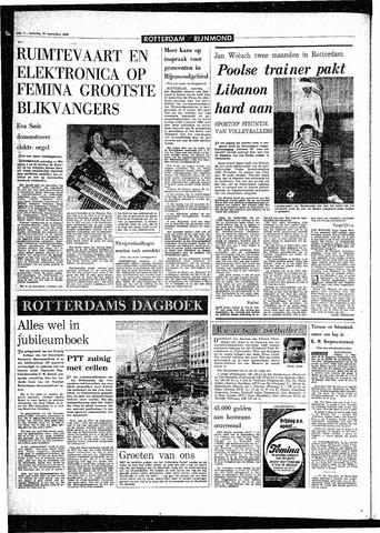 Rotterdamsch Parool / De Schiedammer 1968-09-28