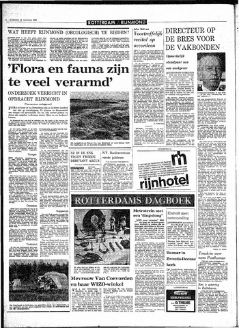 Rotterdamsch Parool / De Schiedammer 1968-11-14
