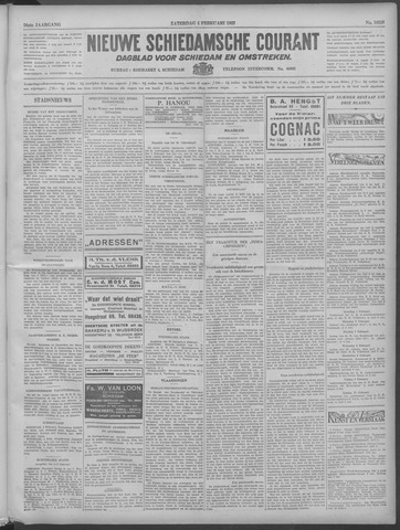 Nieuwe Schiedamsche Courant 1933-02-04
