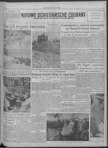 Nieuwe Schiedamsche Courant 1958-02-27