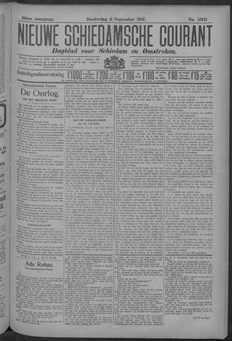 Nieuwe Schiedamsche Courant 1917-09-06
