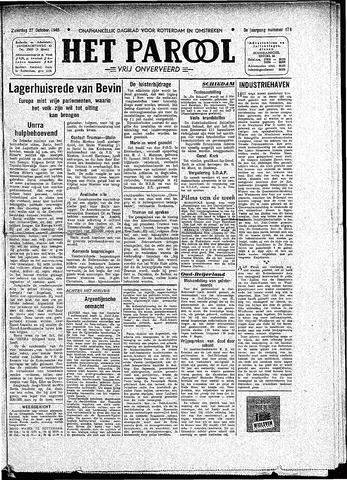 Rotterdamsch Parool / De Schiedammer 1945-10-27