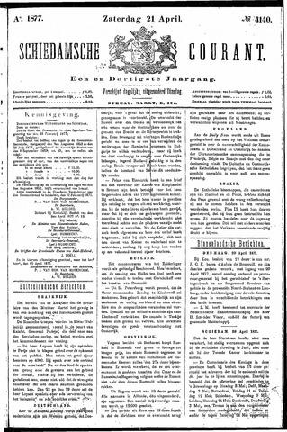 Schiedamsche Courant 1877-04-21