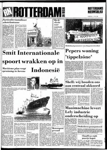 Rotterdamsch Nieuwsblad / Schiedamsche Courant / Rotterdams Dagblad / Waterweg / Algemeen Dagblad 1983-06-11
