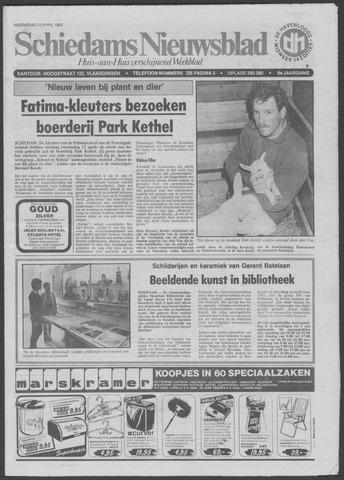 Schiedams Nieuwsblad 1983-04-13