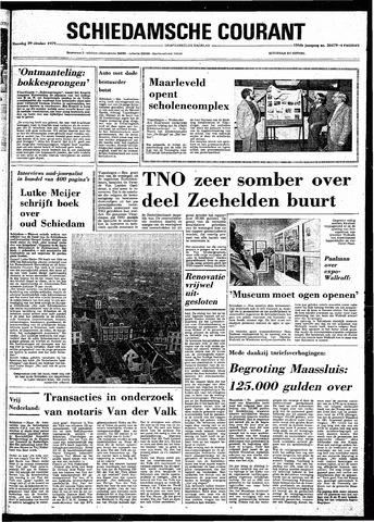 Rotterdamsch Nieuwsblad / Schiedamsche Courant / Rotterdams Dagblad / Waterweg / Algemeen Dagblad 1979-10-29
