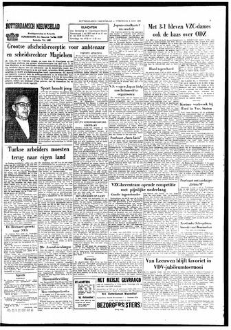 Rotterdamsch Nieuwsblad / Schiedamsche Courant / Rotterdams Dagblad / Waterweg / Algemeen Dagblad 1966-06-08