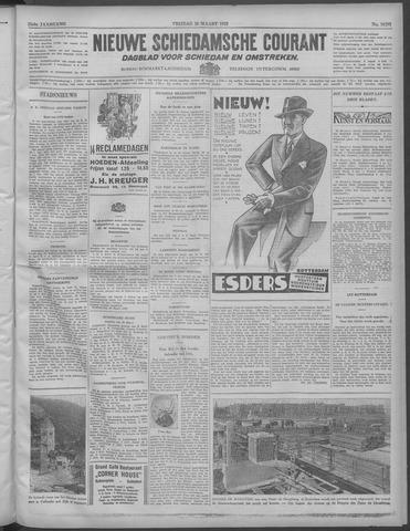 Nieuwe Schiedamsche Courant 1932-03-25