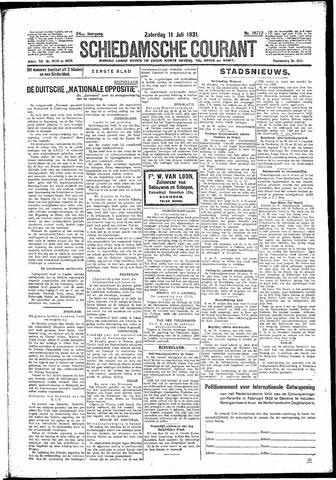 Schiedamsche Courant 1931-07-11