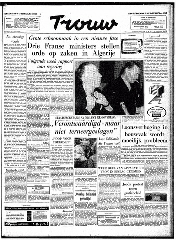 Trouw / De Rotterdammer 1960-02-06