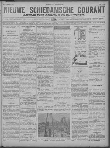 Nieuwe Schiedamsche Courant 1929-10-09