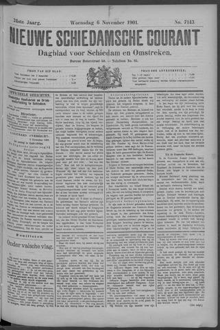 Nieuwe Schiedamsche Courant 1901-11-07