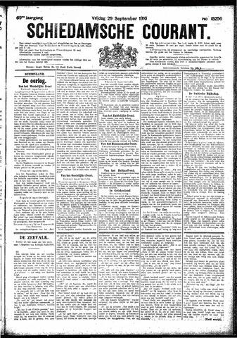 Schiedamsche Courant 1916-09-29