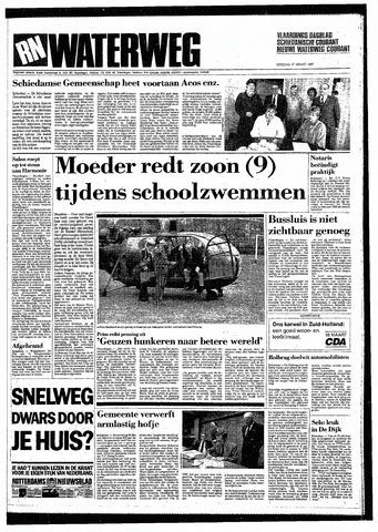 Rotterdamsch Nieuwsblad / Schiedamsche Courant / Rotterdams Dagblad / Waterweg / Algemeen Dagblad 1987-03-17