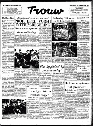 Trouw / De Rotterdammer 1958-12-22