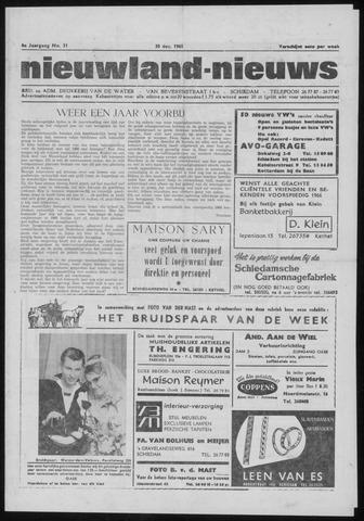 Nieuwland Nieuws 1965-12-30