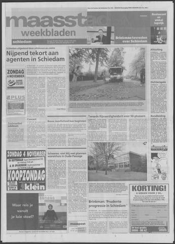 Maaspost / Maasstad / Maasstad Pers 2001-10-31