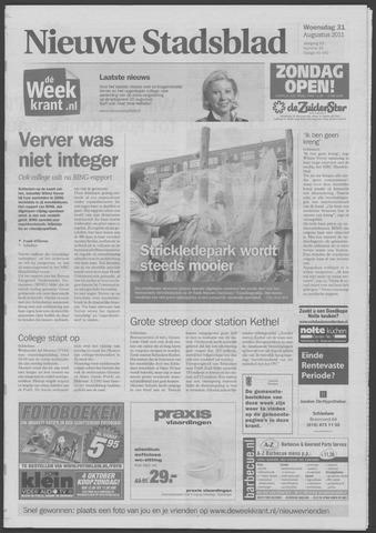 Het Nieuwe Stadsblad 2011-08-31