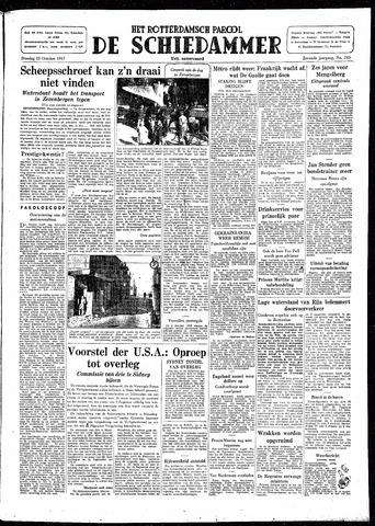 Rotterdamsch Parool / De Schiedammer 1947-10-21