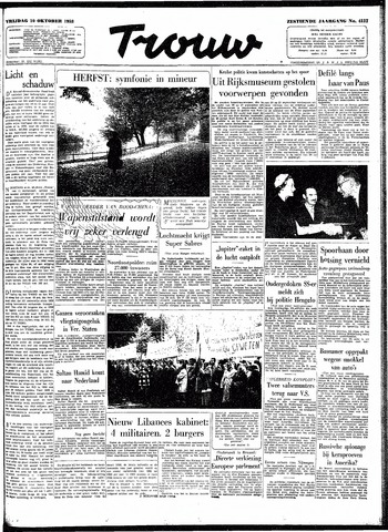 Trouw / De Rotterdammer 1958-10-10