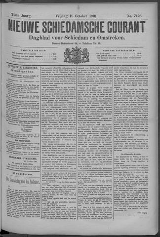 Nieuwe Schiedamsche Courant 1901-10-18