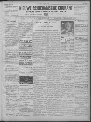 Nieuwe Schiedamsche Courant 1932-05-07
