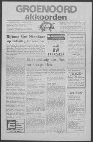 Groenoord Akkoorden 1972-11-08