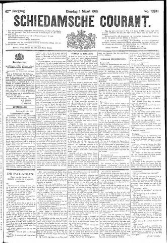 Schiedamsche Courant 1910-03-01