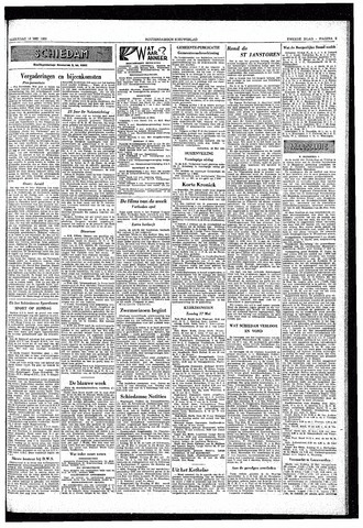 Rotterdamsch Nieuwsblad / Schiedamsche Courant / Rotterdams Dagblad / Waterweg / Algemeen Dagblad 1953-05-16