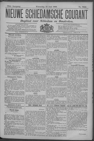 Nieuwe Schiedamsche Courant 1909-06-23