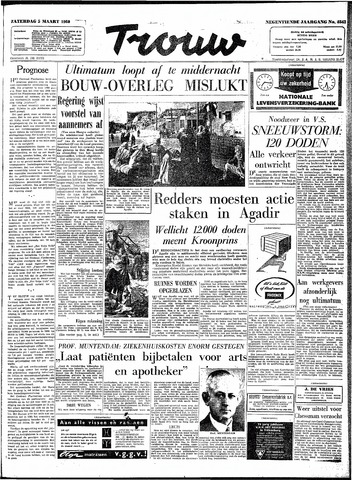 Trouw / De Rotterdammer 1960-03-05