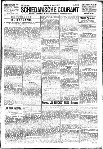 Schiedamsche Courant 1927-04-05