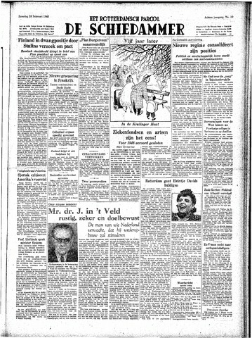 Rotterdamsch Parool / De Schiedammer 1948-02-28
