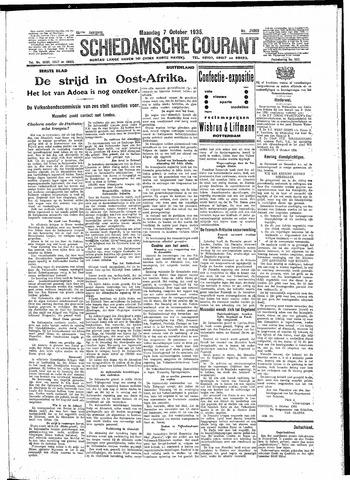 Schiedamsche Courant 1935-10-07