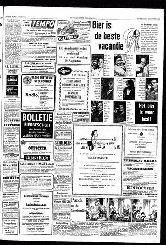 Rotterdamsch Nieuwsblad / Schiedamsche Courant / Rotterdams Dagblad / Waterweg / Algemeen Dagblad 1953-08-08